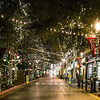 Xmas Lights in Santa Row -3