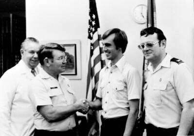 1980 Commissioning Ceremony