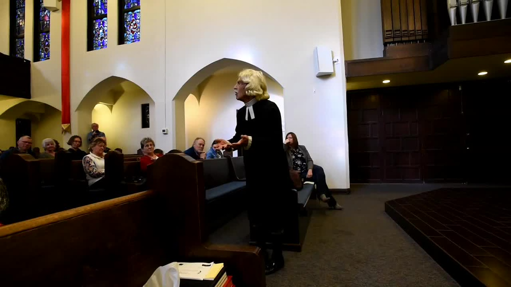 Don Baldwin Brings John Wesley to Life for Reno First UMC's 150th Anniversary