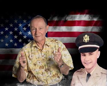 John flag and uniform
