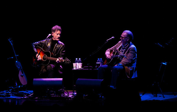Lyle Lovett and John Hiatt
