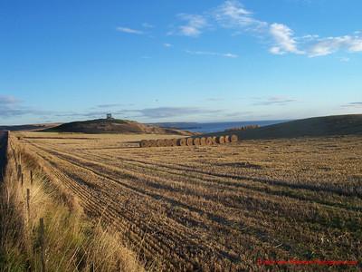 Scotland Southeast Coast with Ruin 2