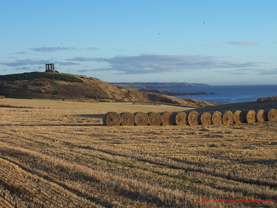 Scotland Southeast Coast with Ruin 1