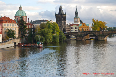 The Charles Bridge Prague