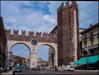Gate to Verona, Italy