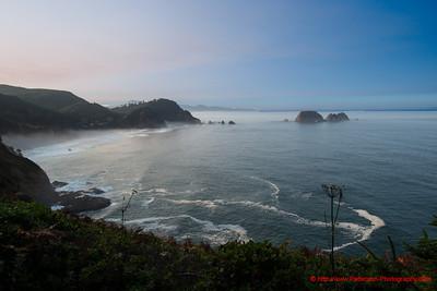 Meares Lighthouse Coastal View 1