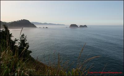 Meares Lighthouse Coastal View
