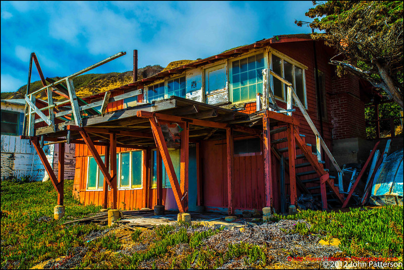 Abandoned Beach Cottage