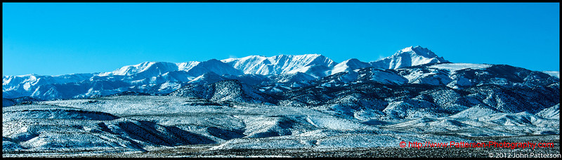 The White Mountains Nevada