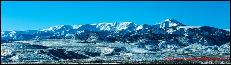 The White Mountains Nevada