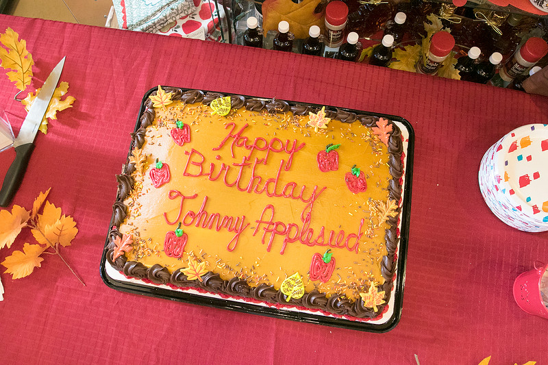 It was Johnny Appleseed's birthday today Thursday, September 26, 2019. He is 245 years old today. The Johnny Appleseed Visitor Center on Route 2 in Lancaster held a birthday party for him. SENTINEL & ENTERPRISE/JOHN LOVE