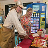 It was Johnny Appleseed's birthday today Thursday, September 26, 2019. He is 245 years old today. The Johnny Appleseed Visitor Center on Route 2 in Lancaster held a birthday party for him. Johnny helps Diane Burnette the director of the Johnny Appleseed Visitors Center cut the birthday cake. SENTINEL & ENTERPRISE/JOHN LOVE