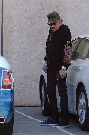 Johnny Hallyday is Back to Work