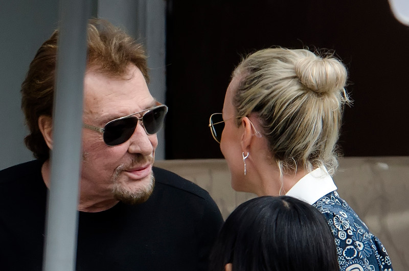Johnny Hallyday, Laeticia,Positive Attitude.