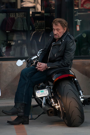 Johnny Hallyday Spotted in Marina Del rey