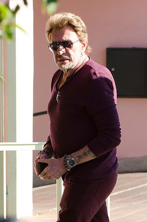 Johnny Hallyday, Francois Vincentelli a Los Angeles