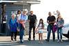 Johnny Hallyday,Laeticia,Joy,Jade lunch at Gladstones