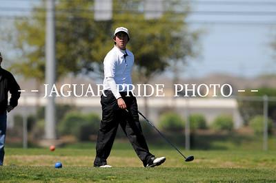 Johnson Boys Golf - March 3, 2012 - Varsity Blue and White at NEISD TOC JPP01