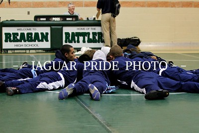 Johnson Wrestling - January 19, 2012 - JV and Varsity at Reagan Duel JPPGR