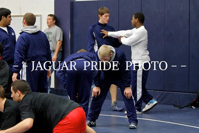 Johnson Wrestling - January 20, 2012 - Varsity at Dallas Jesuit Ranger Classic JPPGR