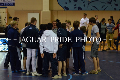 Johnson Wrestling - December 5, 2013 - Varsity Duel vs Wagner CG