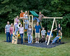 Everyone on the playset