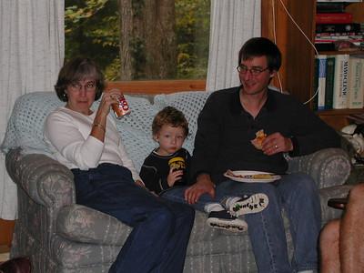 Aunt Clara, Hayden and Carl.