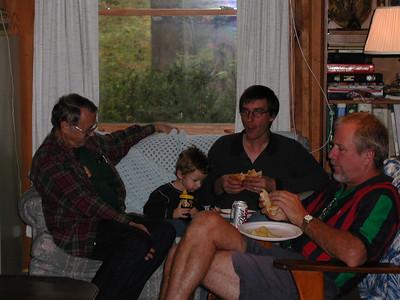 Allen, Hayden, Carl and David.