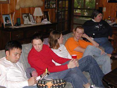 Nathan, Emily, Jennifer, Betsy, and Ellen.