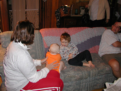 Portia, Vidar, Hayden and Ben.