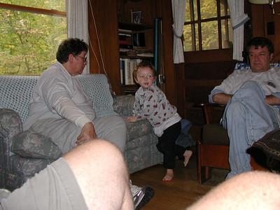 Francis, Hayden and Gene.