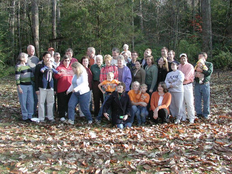 Johnson group photo.