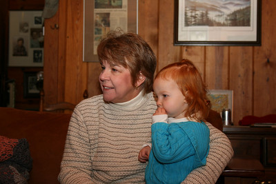 Mary Shelton and Grandmother.