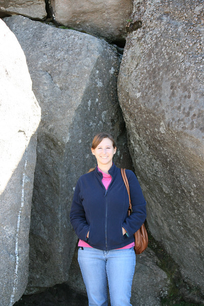 Kelly on the way to Clingmans Dome