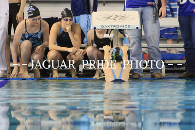 Johnson Swim and Dive - February 4, 2012 - Districts Finals