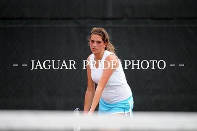 Johnson Tennis - April 7, 2010 - Varsity at District 26-5A Tournament