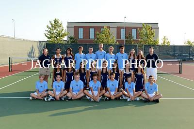 Johnson Tennis - August 14, 2012 - Varsity Team Photo Day JPP01