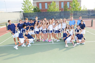 Johnson Tennis - May 9, 2014 - Team Photo Day