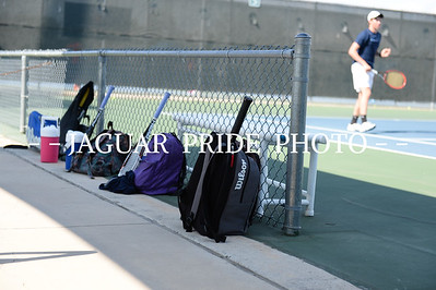 Johnson Tennis - August 25, 2015 - Varsity Team vs Roosevelt