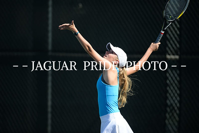 Johnson Tennis - August 23, 2016 - Varsity vs Roosevelt