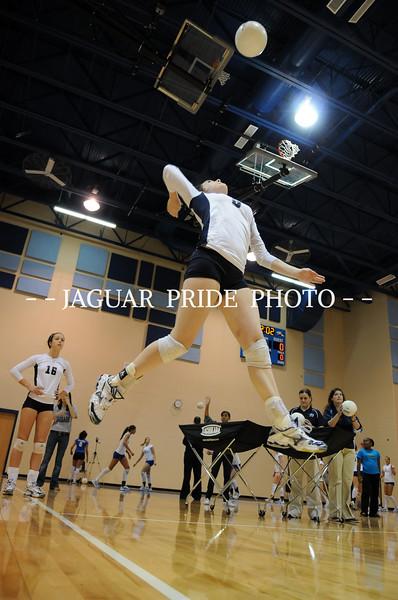 Johnson Volleyball - October 24, 2008 - Varsity vs New Braunfels and Parent Night JPP01
