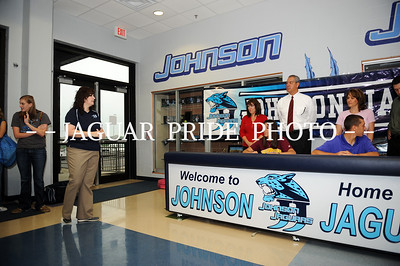 Johnson Volleyball - April 14, 2010 - Brandi Flores Signing JPP01