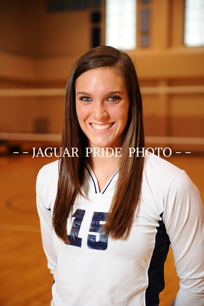 Johnson Volleyball - September 7, 2009 - Varsity Team Photo Day Two - JPP01