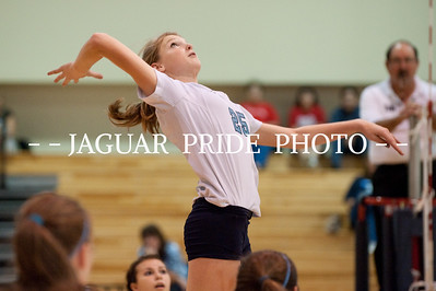 Johnson Volleyball – October 13, 2009 – Freshman A vs Lee JPP04
