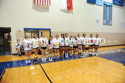 Johnson Volleyball - August 10, 2010 - Freshman vs Incarnate Word JPP01
