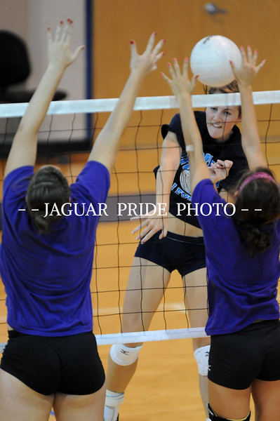 Johnson Volleyball - August 7, 2010 - Varsity vs San Marcos Scrimmage