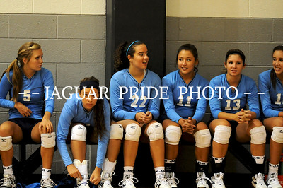 Johnson Volleyball - August 18, 2011 - Varsity vs Clark JPP01