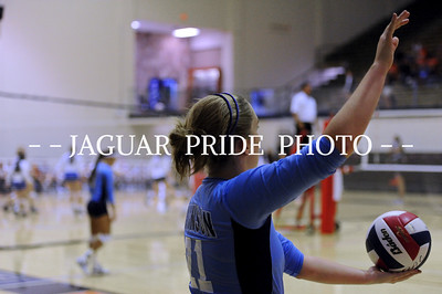 Johnson Volleyball - August 20, 2011 - Varsity at NEISD Tournament