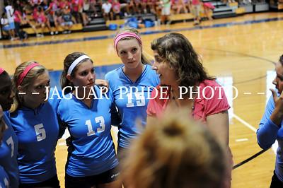 Johnson Volleyball - August 23, 2011 - Varsity vs Uvalde