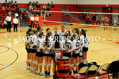 Johnson Volleyball - November 1, 2011 - Round 1 Playoff Varsity vs Judson JPP01